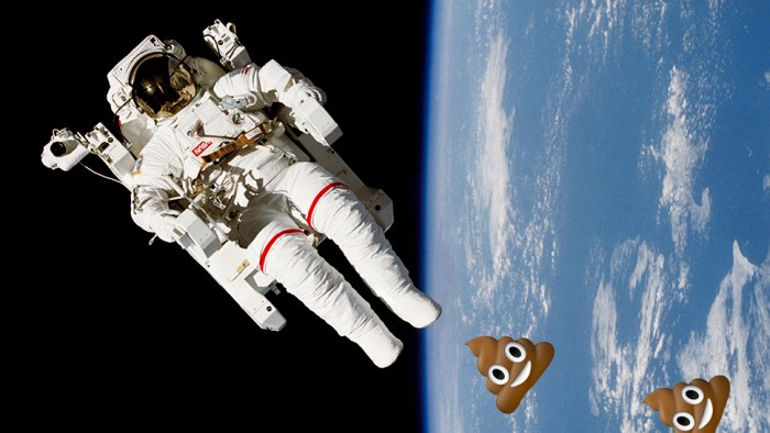 How Do Astronauts Poop In Their Million Dollar Space Toilets